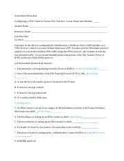 lab08RaymondkerrAssessment Worksheet