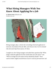 Pocket_ What Hiring Managers Wish You Knew About Applying for a Job
