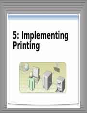 5-Implementing Printing