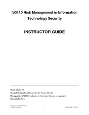IS3110 Instructor Guide