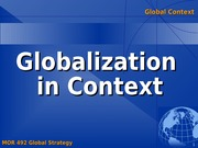 Global Context Analysis (Meet Question)