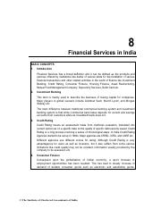 Financial Services in India_Practice