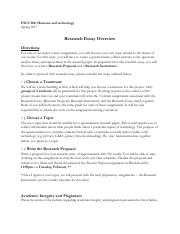Research Essay Overview TTH.pdf