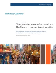 1 Older smarter more value conscious The French consumer transformation