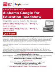 Alabama Google for EDU Roadshow PDF (1)