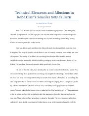 Technical Elements and Allusions in René Clair.docx