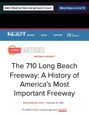 The 710 Long Beach Freeway: A History of America's Most Important Freeway | KCET.pdf