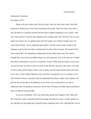 cultural ambassador essay danielle russ intercultural awareness 3 pages journal entry week 7