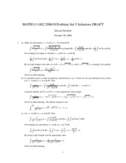 MATH111-200630-PS05-Solutions