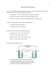 chapter 20 electrochemistry review