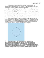 Trigonometric functions are based on angle measurements.docx