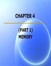 CHAPTER_4  Memory