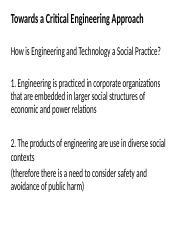 1 Social construction for engineers 2014F Posted