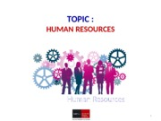 X4.1 Human Resources