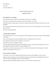 Chapters 26-27 Notes