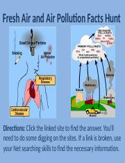 Fresh Air and Air Pollution Facts Hunt.pptx