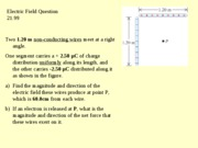 Question 21.99 Electric Field