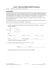 advmath-lv1-finalexam2005-answers
