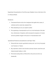 L101_ClassNotes_EngenderingTransnationalismInFoodProcessing