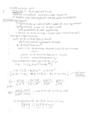 functional form notes