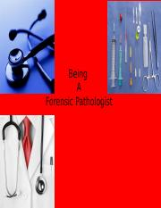 Forensic Pathologist