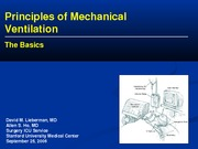 Mechanical Ventilation Handout - allenho