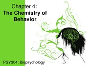 4. Chapter 4 Chemistry of Behav(1)
