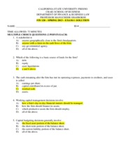FIN 120 - SPRING 2013 - EXAM I WITH SOLUTION.pdf