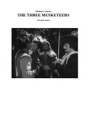 Children's Classics The Three Musketeers Alexandre Dumas
