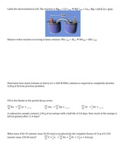 Ch. 16 & 17 Discussion Worksheet
