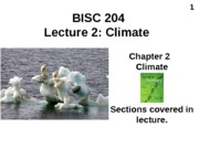 Lecture 3 Climate post