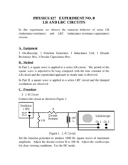 127-08 LR and LRC Circuits-1