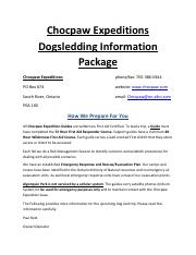 Dogsledding-info-package - DAY TRIP