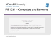 Lecture 7 - Networking Concepts