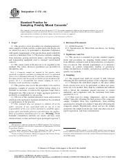 ASTM C172 Sampling Freshly Mixed Concrete pdf - Designation