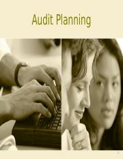 Topic 7- Audit Planning.ppt