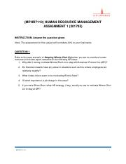 Human Resource Assignment Question.pdf