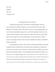 wuthering heights essay lilly cash