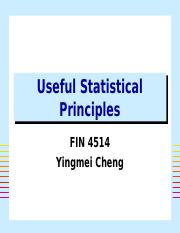 Useful Statistic Principle.ppt