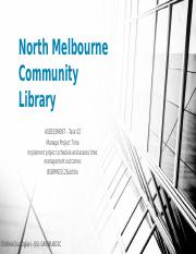 Task 02 North Melbourne Community Library.pptx