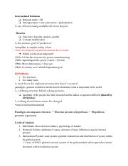 19 CAS IR 271 A1 - Lecture Notes