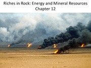 Ch12_Energy Resources- part I
