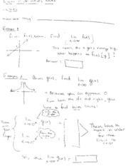 Limits and Derivatives Notes