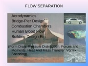 Lecture on Boundary Layer Separation