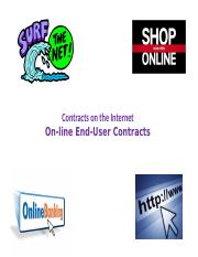 1 - On-line End-User Contracts - Clickwrap v Browsewrap.pptx
