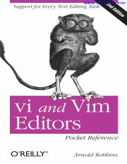 vi_and_vim_editors_pocket_reference_second_edition
