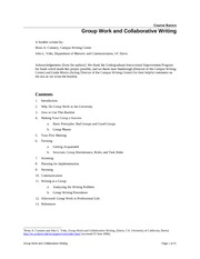 GroupWorkandCollaborativeWri