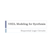 VHDL 3 Sequential