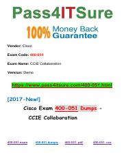New Pass4itsure Cisco 400-051 Dumps PDF.pdf
