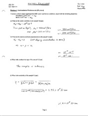 Midterm Solutions